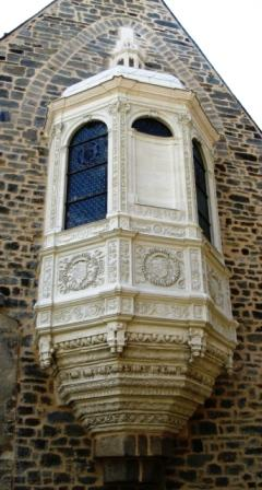 château de Vitré,Absidiole de Guy XVI