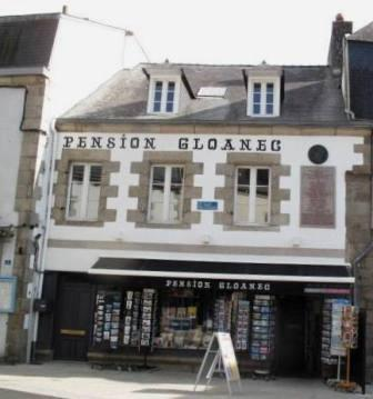Pont-Aven , pension Gloanec
